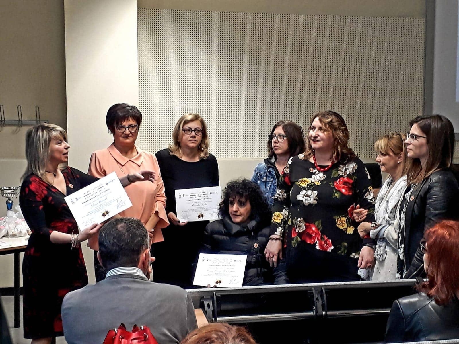 premio calicanto per la pari opportunità disabilità